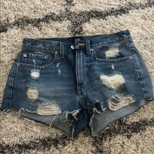 Urban Outfitters Jean cut offs, worn once sz26
